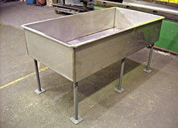 Stainless Steel Trough