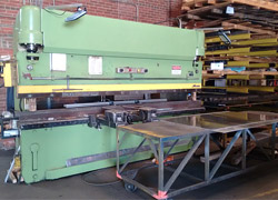 125 Ton CNC Programmable Press Brake