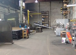 Steel Welding Area